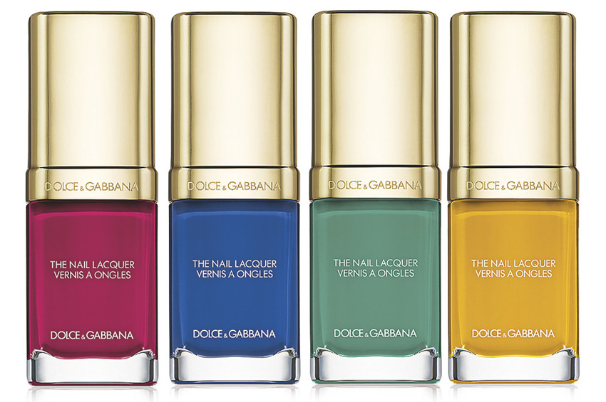 Dolce-Gabbana-Makeup-Collection-for-Spring-2015-nail-polish