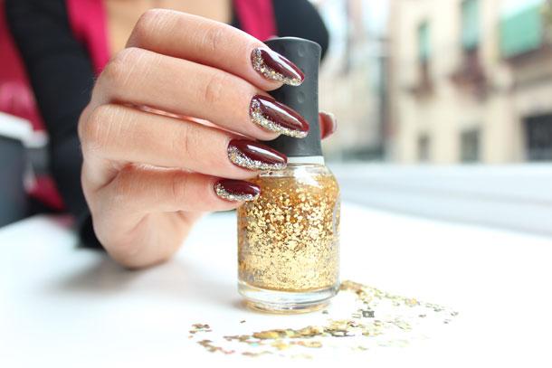 Diseño de uñas | Metálicos y brillos