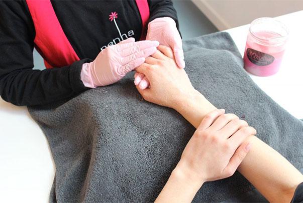 Tratamiento de belleza - masaje