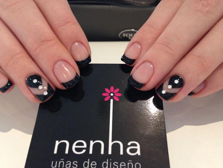 Una manicura francesa perfecta en Nehna